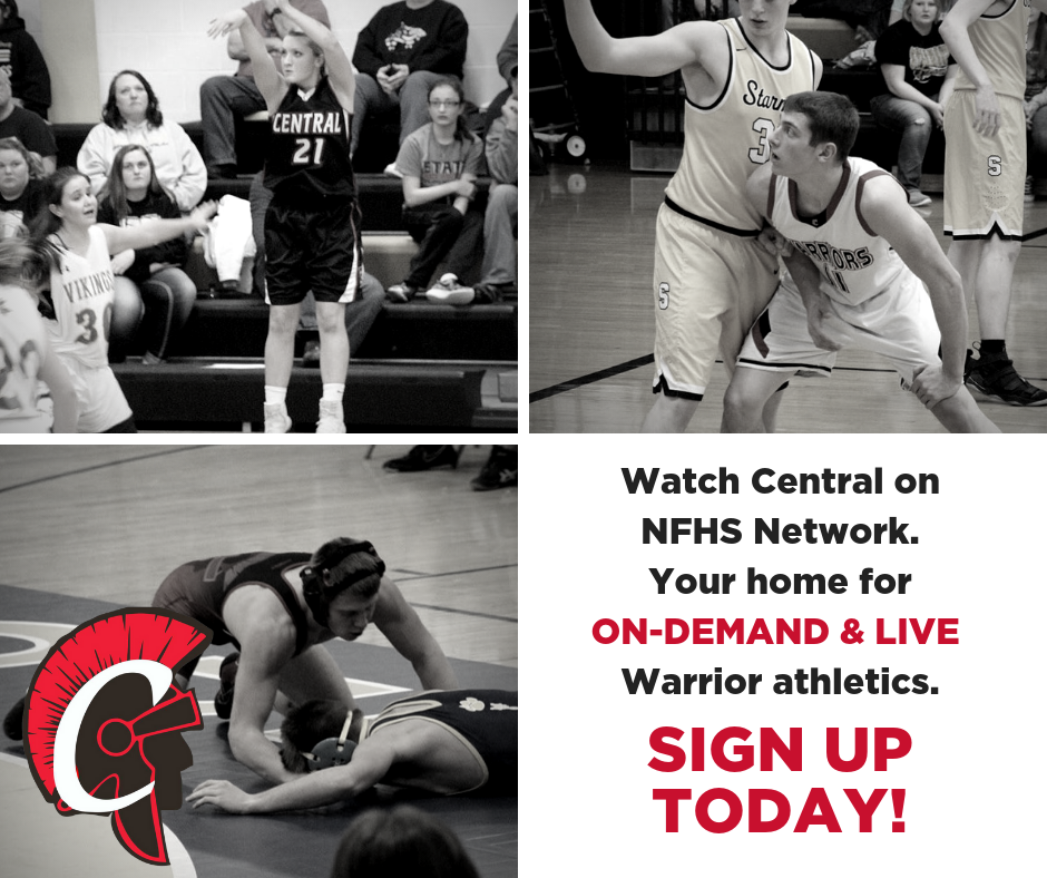 Watch Central Warrior Sports Live!