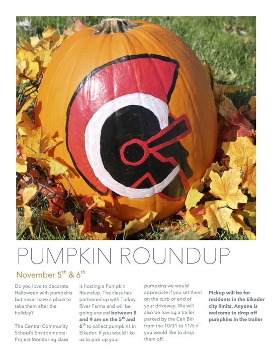 Pumpkin Round Up Flyer