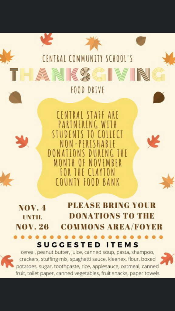 Central Food Drive
