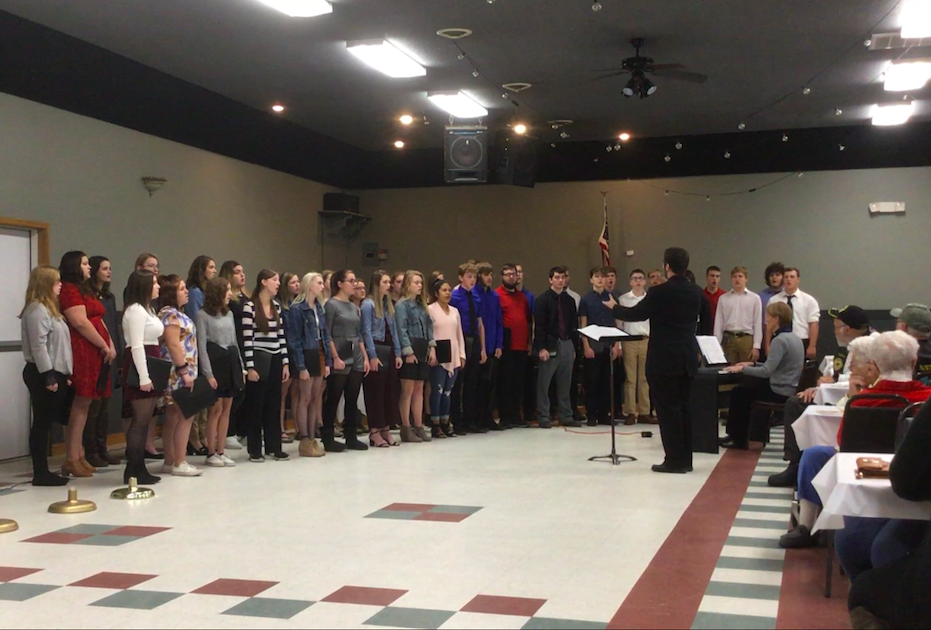 Central HS Chorus at American Legion Luncheon