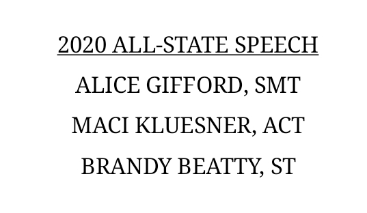 all state 2020